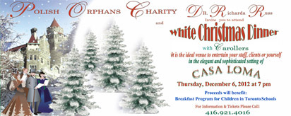 More about: White Christmas Dinner 2012