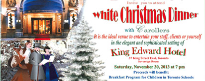 More about: White Christmas Dinner 2013
